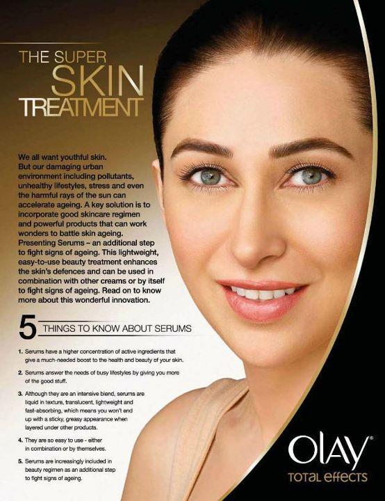 Karishma Kapoor's New Ad for Olay