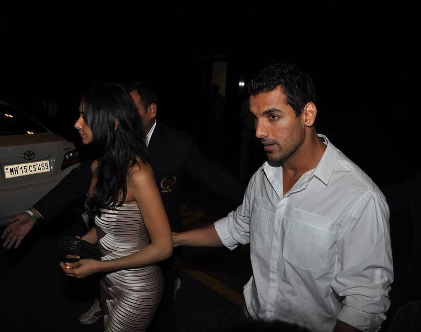 John Abraham spotted with girlfriend Priya Marwah