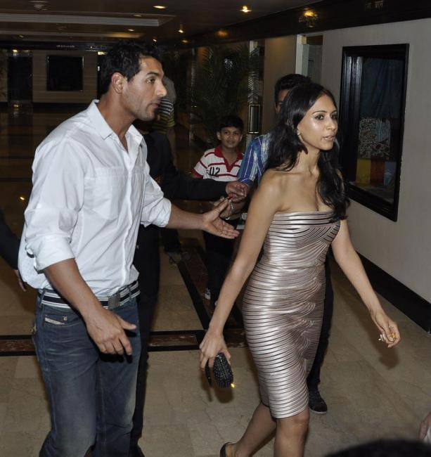 John Abraham with girlfriend Priya