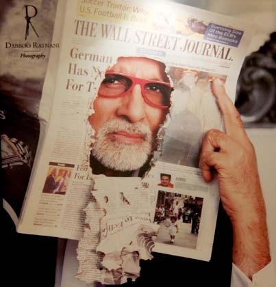 Amitabh Bachchan in Dabboo Ratnani's Calendar 2012