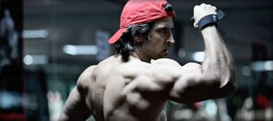 Hrithik Roshan body look for Krrish 3