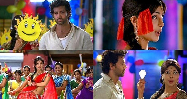 Hrithik, Priyanka in Gun Gun Guna