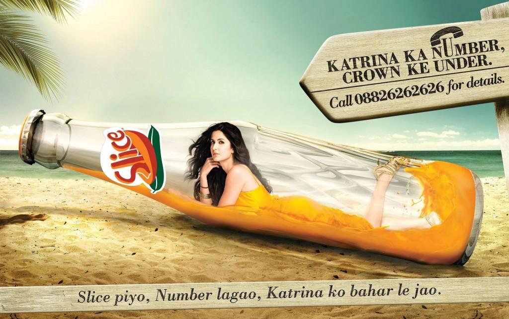 Katrina Kaif in New Slice Ad