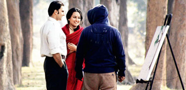 Ranveer and Sonakshi shoot for Lootera in small village of Purulia district in Bengal