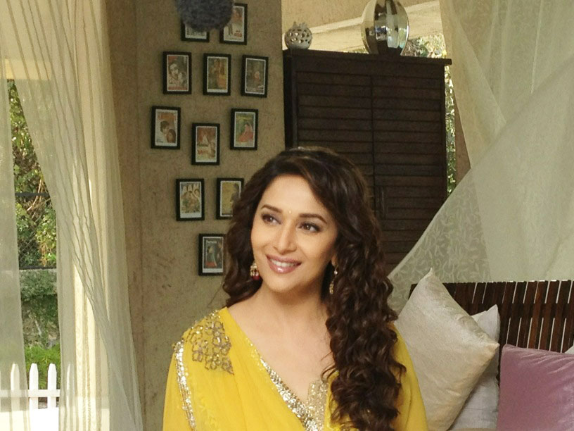 Madhuri's shoot for Life OK