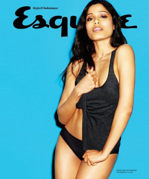 Freida Pinto Esquire UK scan - April 2012