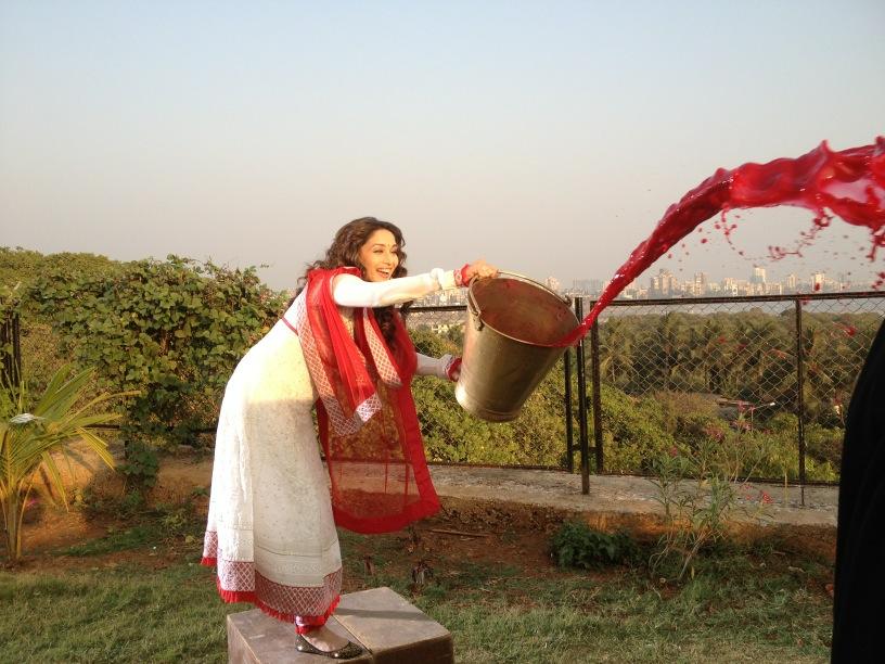 Madhuri Dixit - Life OK shoot
