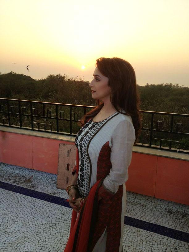 Life OK shoot - Madhuri Dixit