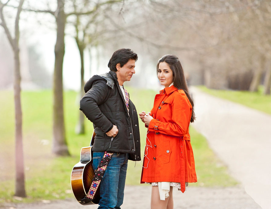 Shahrukh Khan and Katrina Kaif in Yash Chopra's New Movie