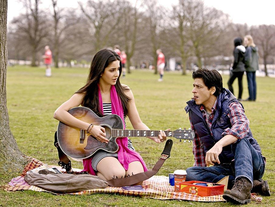 Katrina Kaif and Shahrukh Khan in Yash Chopra's Next