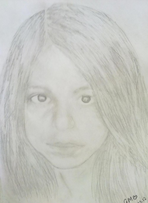 Suhana Khan Sketches - Hand Drawn