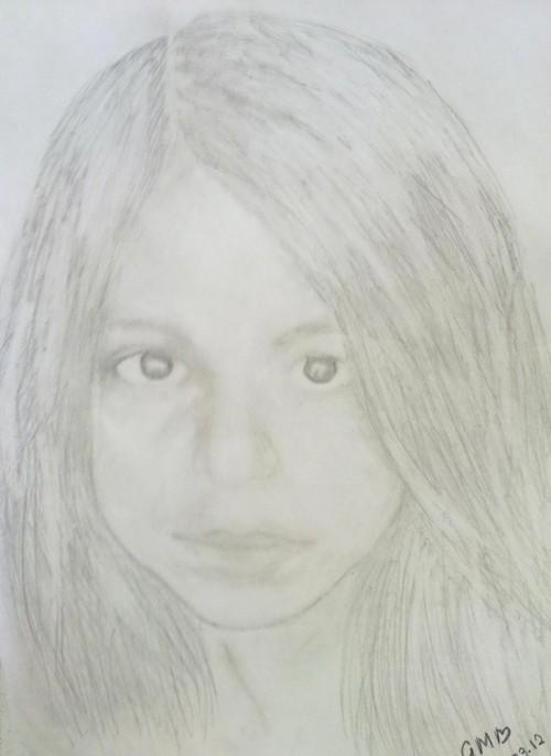 Suhana Khan Sketches - Hand Drawn