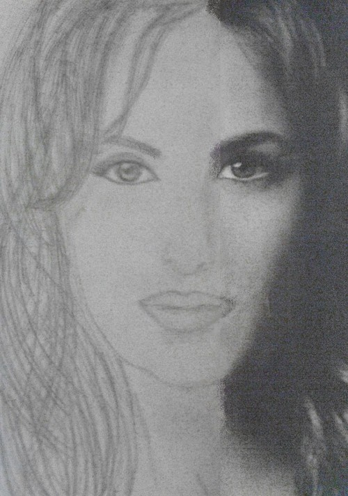 Katrina Kaif Sketches - Hand Drawn