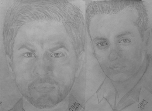 Shahrukh Khan and Salman Khan Sketches