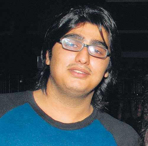 Arjun Kapoor Before losing weight