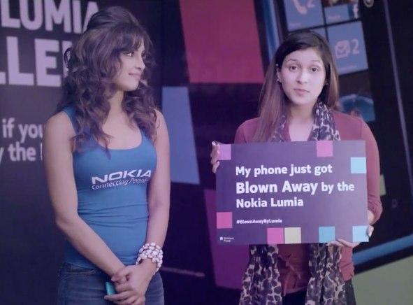Nokia Lumia 800 Challenge by Priyanka Chopra