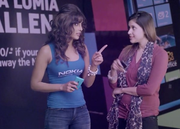 Priyanka Chopra Nokia Ad