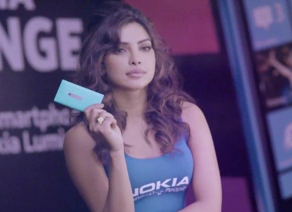 Priyanka Chopra Nokia Lumia Challenge
