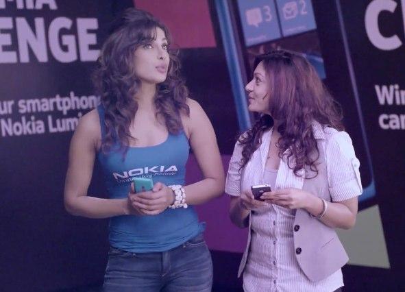 Priyanka Chopra - Nokia Lumia