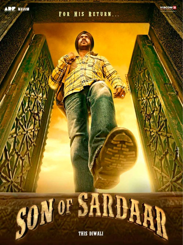 Son of Sardar Poster 2 Bollywood 2012 climax   Salman Aamir Shahrukh Akshay Ajay   Who will rise? who will loose out? Thoughts Expectations Predictions