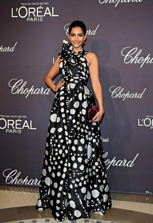 Sonam Kapoor at the Cannes Film Festival 2012