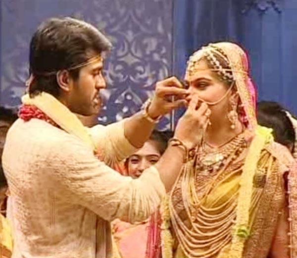 Ram Charan weds Upasana