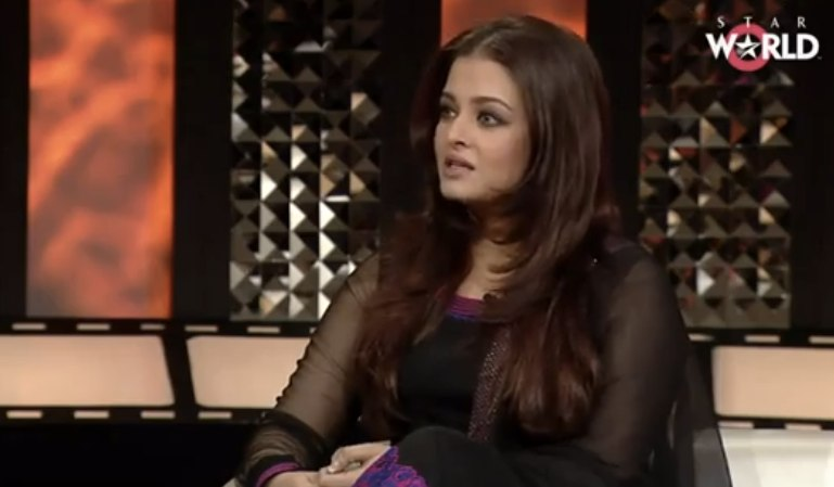 Aishwarya Rai Bachchan on The Front Row with Anupama Chopra