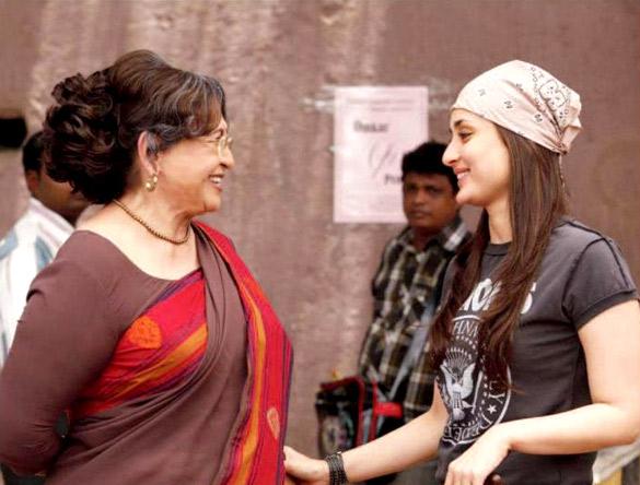 Kareena Kapoor with Helen in Heroine
