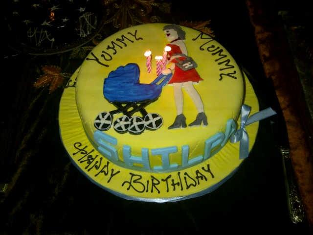 Shilpa Shetty s Birthday Cake (Pic)
