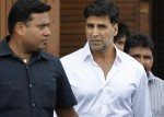 Akshay Kumar at Rajesh Khanna's house