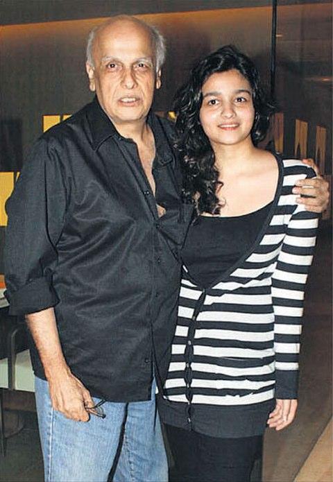 Alia Bhatt - Father Mahesh Bhatt