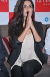 Katrina Kaif greets the media with namaste