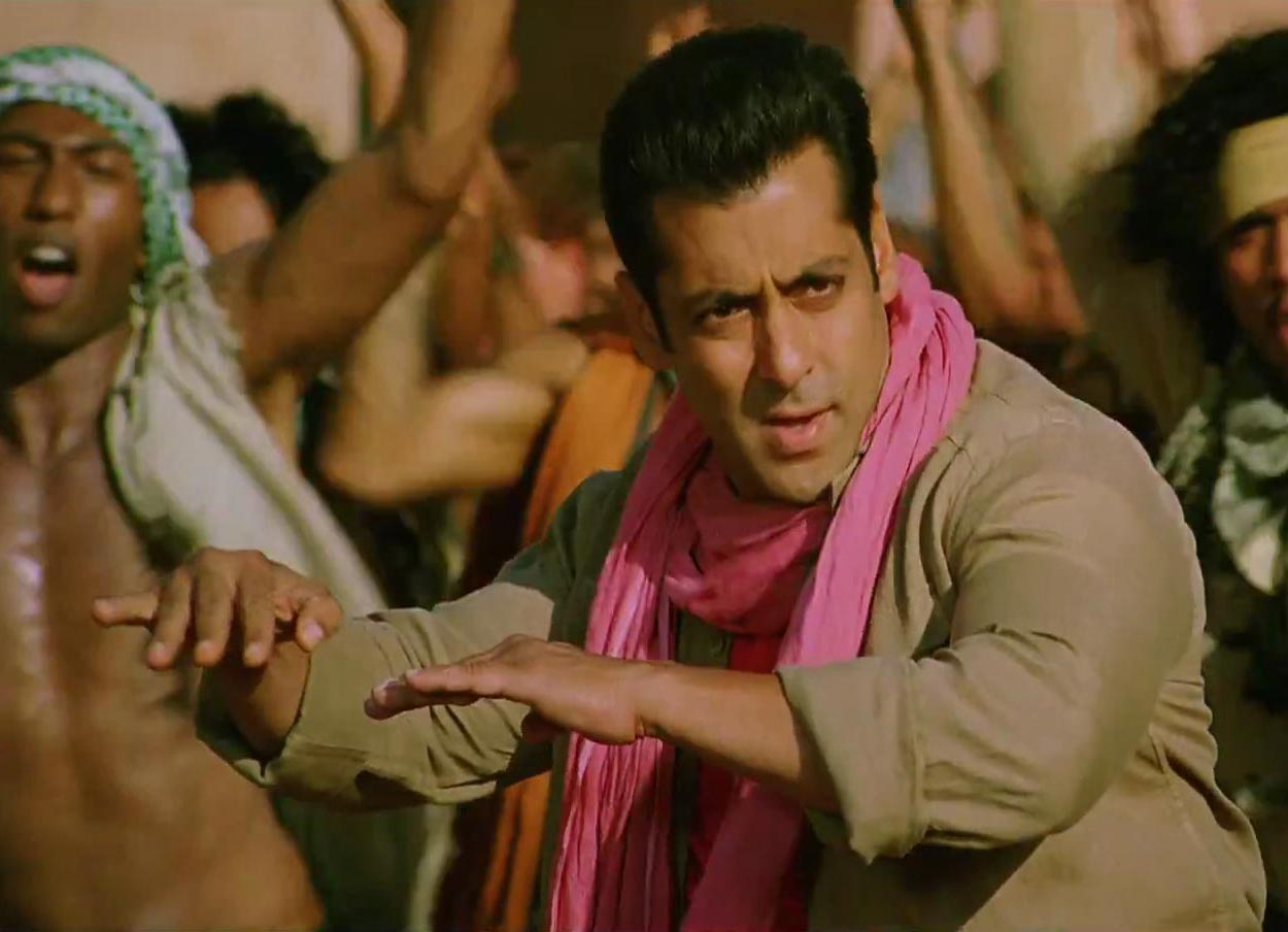 Salman Khan in Ek Tha Tiger Song