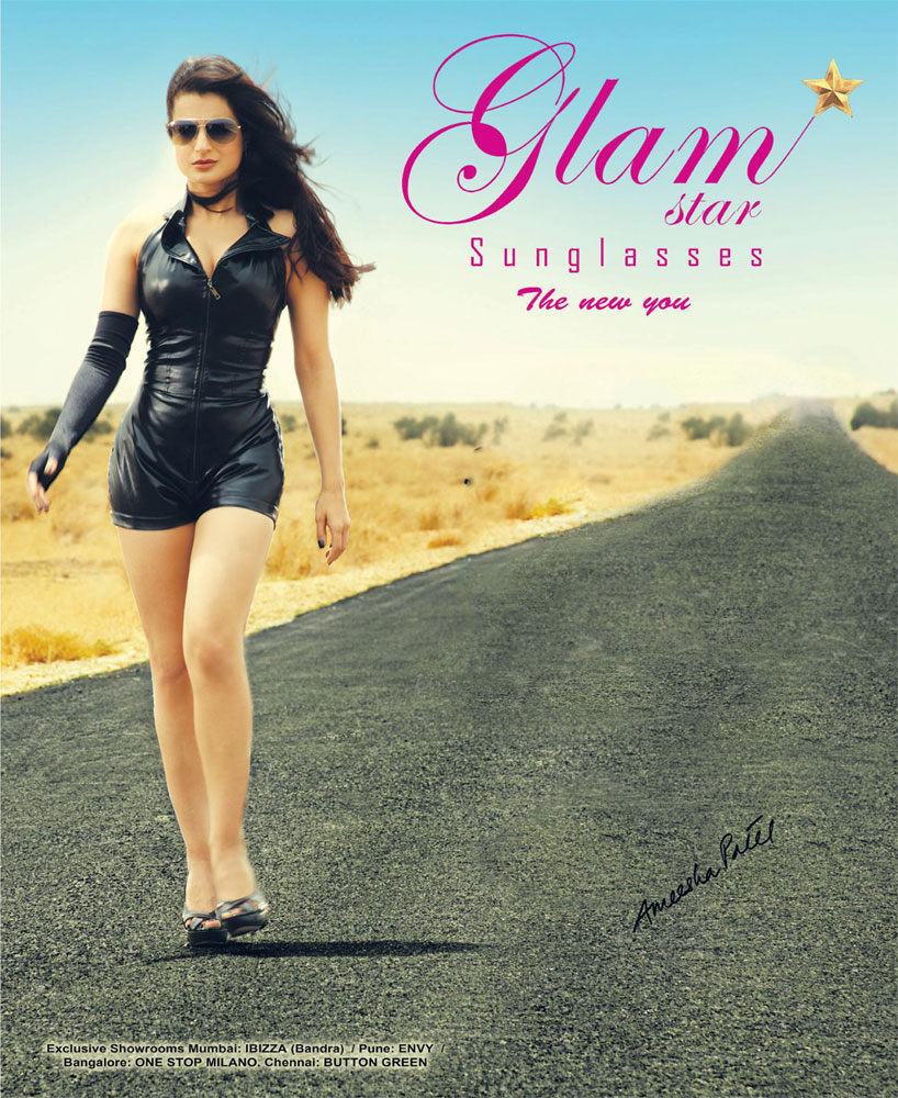Amisha Patel's Glamstar Sunglasses Ad