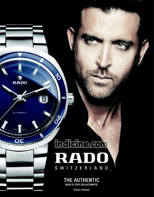 Hrithik Roshan Ad for Rado Watch