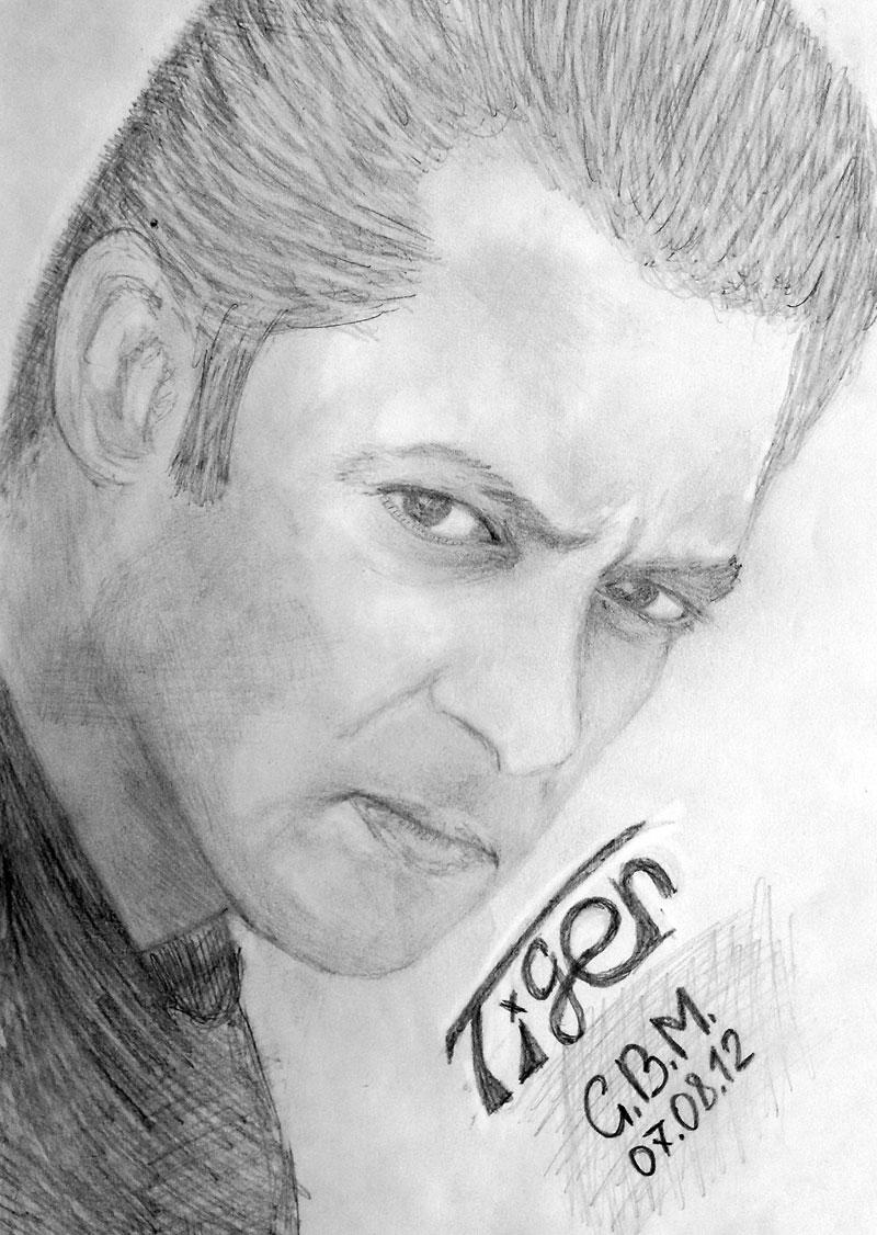 Salman Khan Ek Tha Tiger Sketch