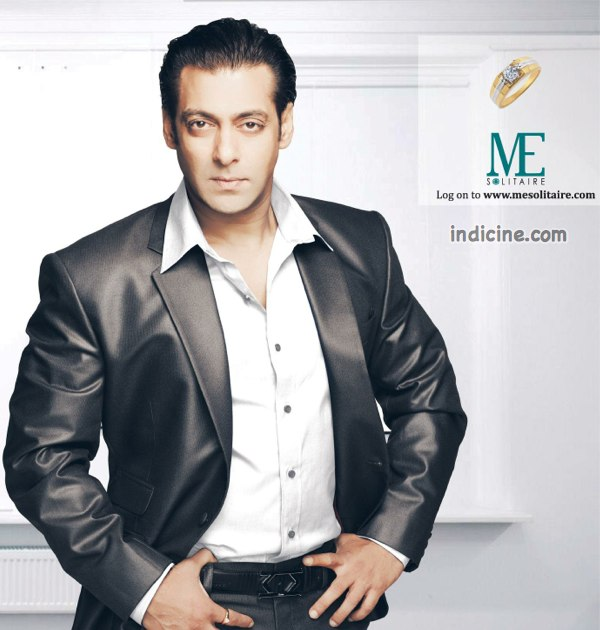 Salman Khan in ME Solitaire ad