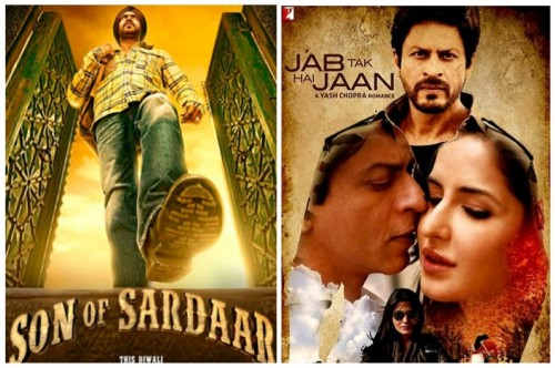 Jab Tak Hai Jaan vs Son Of Sardar