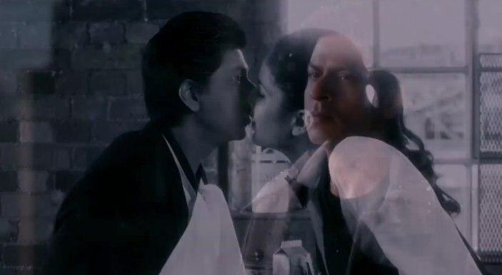 SRK Kiss in Jab Tak Hai Jaan