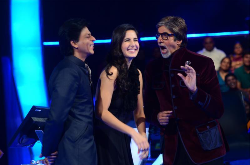 SRK Katrina Bachchan on KBC
