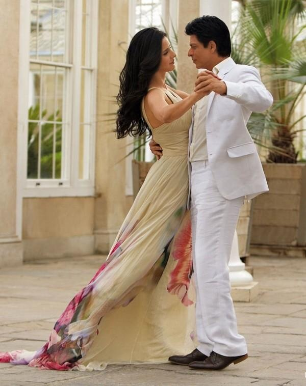 Katrina Kaif with SRK - JTHJ