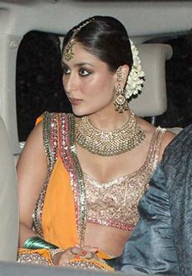 Kareena Kapoor at her sangeet ceremony