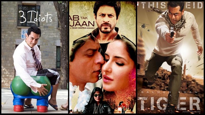 Jab Tak Hai Jaan vs Ek Tha Tiger vs 3 Idiots