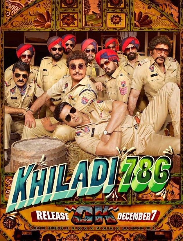 Khiladi New Poster