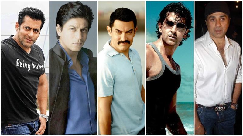 Salman SRK Aamir Hrithik Sunny