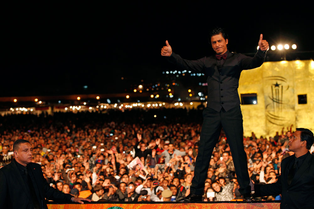 Shahrukh at Marrakech Film Festival