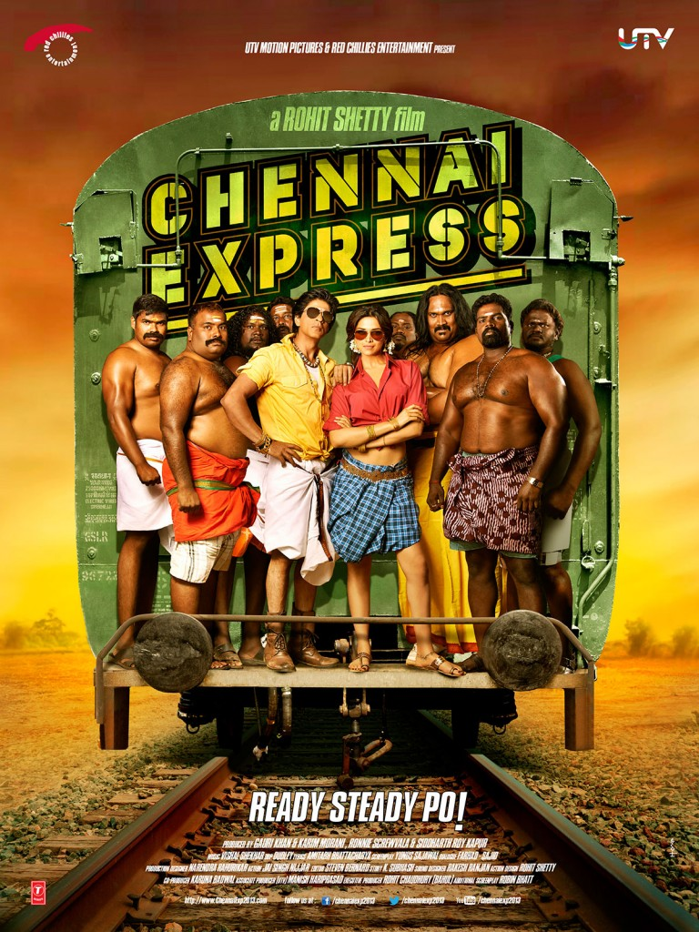 Chennai Express Shahrukh Khan 768x1024 Chennai Express First Look