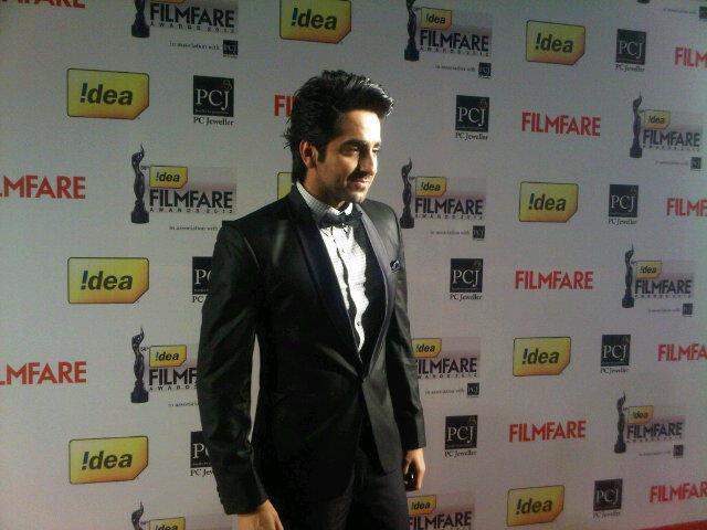 Ayushman Khurana - Filmfare Awards 2013