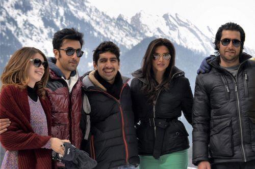Kalki Koechlin, Ranbir Kapoor, Ayan Mukerji, Deepika Padukone