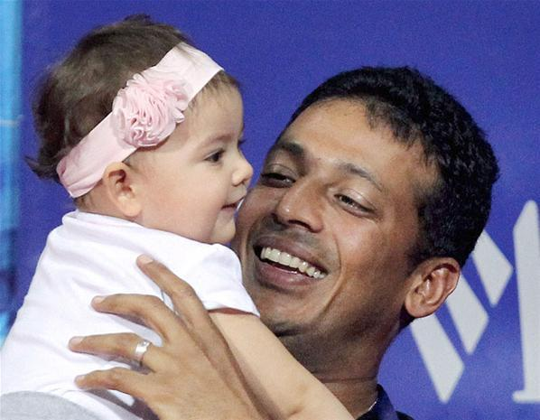 Mahesh Bhupathi's daughter Saira